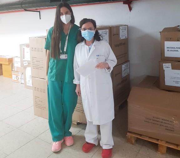 El Corredor Aéreo Sanitario cumple un mes sumando 46,29 millones de equipos de protección para hospitales